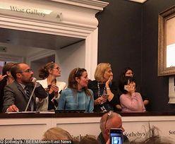 Dzieło pocięte podczas aukcji. Sotheby's poinformował o decyzji zwycięzcy transakcji