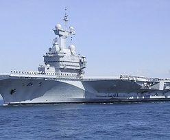 """Lotniskowiec """"Charles de Gaulle"""" na wojnie z islamistami?"""