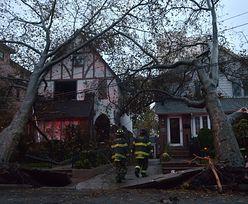 Spadek przestępczości po huraganie Sandy, nadal braki prądu i paliwa