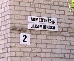 Polacy na Litwie. Władze usuwają tabliczki z polskimi nazwami ulic