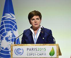 Szydło na szczycie w Paryżu. Polska może przeznaczyć 8 mln dolarów na rzecz klimatu
