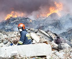 Pożary wysypisk śmieci skaziły ziemię. Ekobombą nikt się nie zajmuje