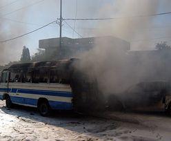 Zamach w Iraku. Samobóczy atak na szkołę i policję