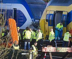 Holandia bilans po zderzeniu pociągów