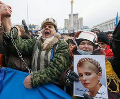 Protesty na Ukrainie. Tymoszenko apeluje do milicji: Złóżcie broń