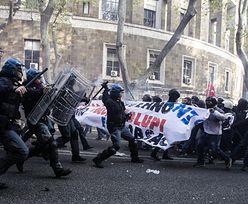 Protest we Włoszech. 30 rannych w starciach w Rzymie