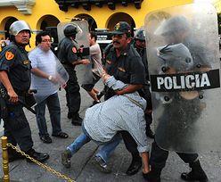 Stan wyjątkowy w Peru po krwawych protestach