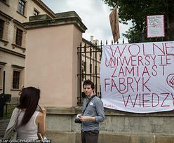 """Minister nauki nie spotka się z protestującymi. """"Dyktat promila studentów"""""""