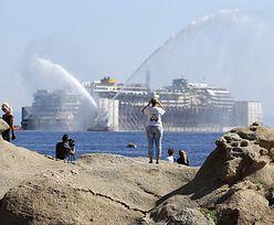 Katastrofa Costa Concordii. Wrak płynie w ostatni rejs