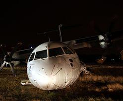Rzym: Samolot nie trafił w pas. Są ranni