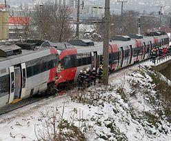 Wiedeń: Czołowe zderzenie dwóch pociągów
