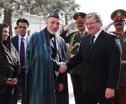 Misja w Afganistanie. Deklaracja Komorowskiego
