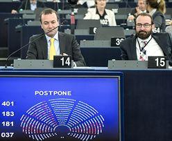 Awantura w europarlamencie. Poszło o umowę z USA