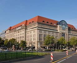 Napad na najbardziej znany berliński dom towarowy KaDeWe.