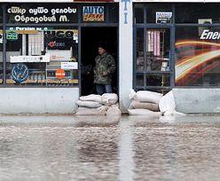Ulewy i powodzie w Serbii i w Bośni. Ogłoszono stan klęski żywiołowej