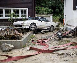 Ulewy i osunięcia ziemi w Szwajcarii