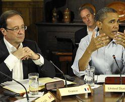 Szczyt G8. Przywódcy omawiają kryzys strefy euro i ceny ropy