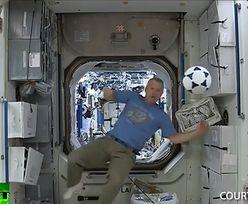 Astronauci na ISS lepsi niż piłkarze na Mundialu?