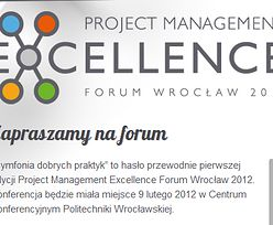 Project Management Excellence Forum Wrocław 2012