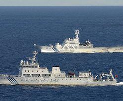 Spór o wyspy Senkaku. Chińskie okręty naruszyły strefę przyległą Japonii