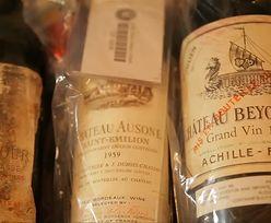 Najdroższe wina serwowane tysiące metrów nad ziemią