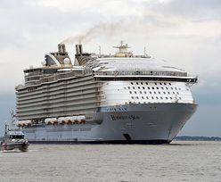 Port w St. Nazaire opuścił największy pasażerski statek świata