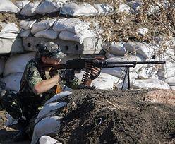 Wojna na Ukrainie. Siły ukraińskie znowu ostrzelane, separatyści z wyrzutniami