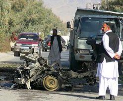 Wojna w Afganistanie. Zamach na konwój policji, są ofiary