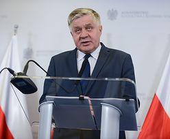 Jurgiel chce postawić na granicy ogrodzenie zapobiegające migracji dzików. Koszt to 130 mln zł