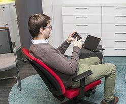 Krzesło zamiast joysticka? Polska firma chce biurowej rewolucji