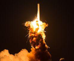 Eksplodowała rakieta ze statkiem transportowym Cygnus