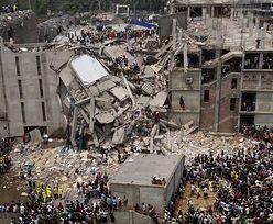 Bangladesz: 200 ofiar śmiertelnych zawalenia się budynku