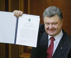 Konflikt na Ukrainie. Poroszenko podpisał ważną ustawę