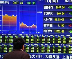 Giełdy w Azji bez chęci do kupowania akcji