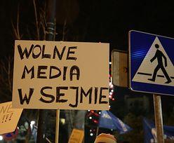 KOD: Protest przed Sejmem ws. dostępu do informacji