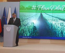 """Premier prezentuje Plan dla wsi. """"Chcemy wspierać rolników niezależnie od rozmiaru gospodarstwa"""""""