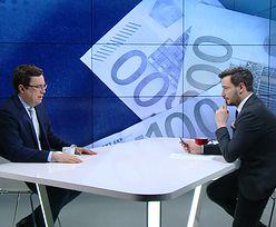 """Euro w Polsce. """"Pytanie, w jakiej perspektywie możemy dogonić Niemcy"""""""