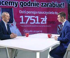 """Sławomir Broniarz cytuje """"klasyka"""". """"Te pieniądze nam się należą"""""""