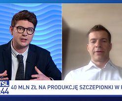 """40 mln zł od PFR na """"polską"""" szczepionkę. Co firma zrobi z tymi pieniędzmi?"""