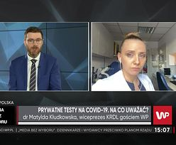 Prywatne testy na COVID-19. Jakie wybrać? Ekspert mówi, na co zwrócić uwagę