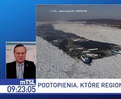 Niepokojąca sytuacja na polskich rzekach. Wody Polskie o ryzyku podtopień