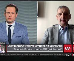 Minister Czarnek proponuje podwyżki. Szef ZNP ostro: Przekłada pieniądze z kieszeni do kieszeni