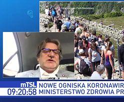 """Tłumy na plaży we Władysławowie. """"Nie może być takich sytuacji"""""""