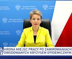 Bezrobocie w Polsce. Koronawirus zabiera pracę. Minister zabrała głos