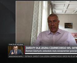 Giertych o zarzutach dla Leszka Czarneckiego: mafijne porachunki