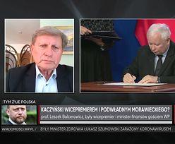Kaczyński wchodzi do rządu? Balcerowicz: oddala nas od Zachodu