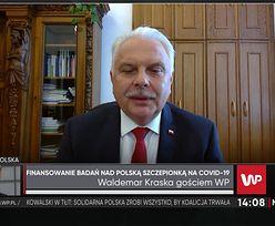 """Polska szczepionka na koronawirusa. """"Potrzebne są miliardy złotych"""""""