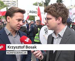 """Bosak na proteście rolników. """"Ogromna zdrada polskiej wsi"""""""