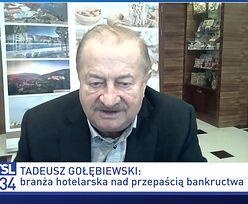 """""""Helikopter ma 15 lat"""". Gołębiewski szczerze o swoim majątku"""