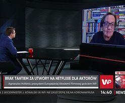 Polscy aktorzy na Netflixie, ale bez tantiem. Agnieszka Holland komentuje